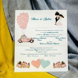 Invitatii de Nunta - BC228 - shop.cheerup.ro