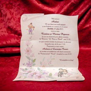 Invitatii de Nunta - BC5011 - shop.cheerup.ro